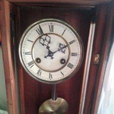 Relojes de pared: GRAN RELOJ DE PARED ALFONSINO JUNGHANS. Lote 168553590