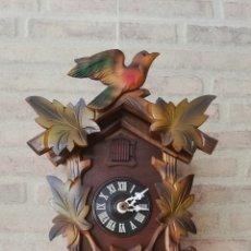 Relojes de pared: RELOJ DE CUCO MECÁNICO DE LOS 70. REVISADO Y OK.. Lote 168831058
