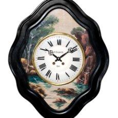 Relojes de pared: ANTIGUO RELOJ DE PARED OJO DE BUEY EXCELENTE ESTADO FUNCIONANDO. Lote 169085816