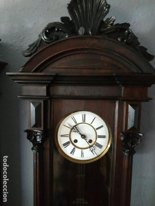 Relojes de pared: Reloj de pared antiguo - Foto 6 - 169221704