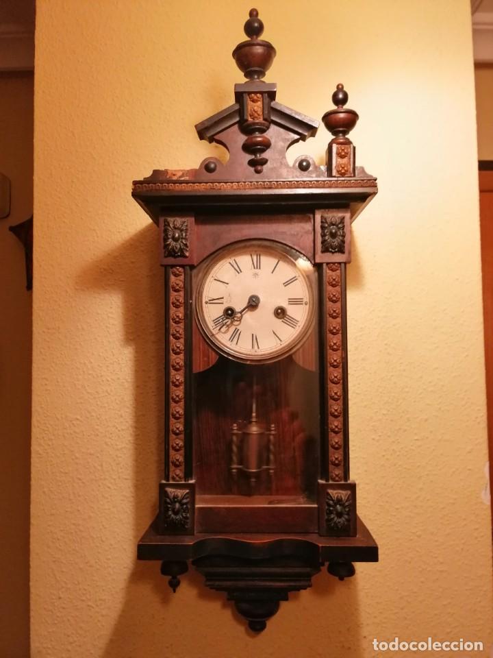 RELOJ DE PARED ¿JUNGHANS ?. (Relojes - Pared Carga Manual)