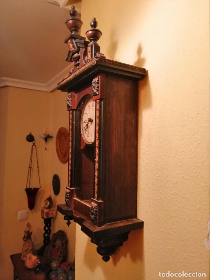 Relojes de pared: RELOJ DE PARED ¿JUNGHANS ?. - Foto 3 - 169236768