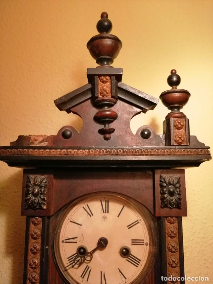 Relojes de pared: RELOJ DE PARED ¿JUNGHANS ?. - Foto 4 - 169236768