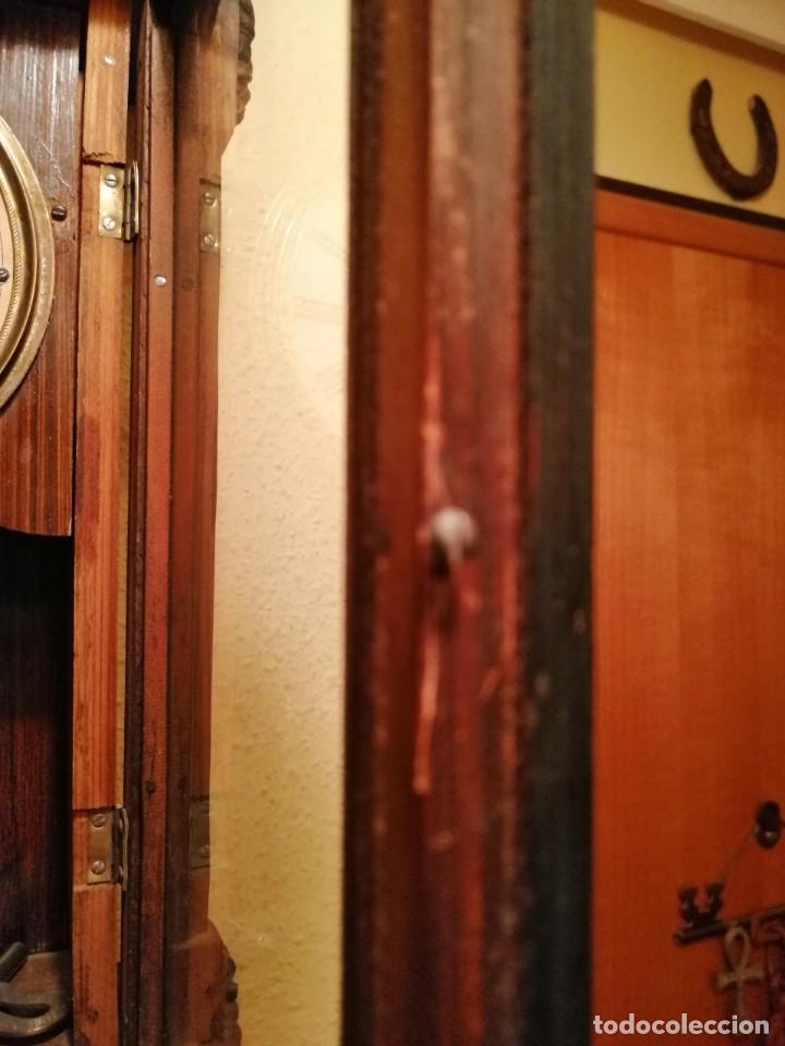 Relojes de pared: RELOJ DE PARED ¿JUNGHANS ?. - Foto 6 - 169236768