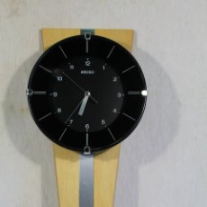 Relojes de pared: RELOJ VINTAGE QUARTZ DE PARED SEIKO. Lote 169264092