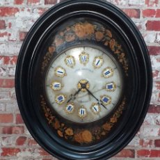 Relojes de pared: ANTIGUO RELOJ DE PARED FINALES SIGLO XIX. Lote 169427040