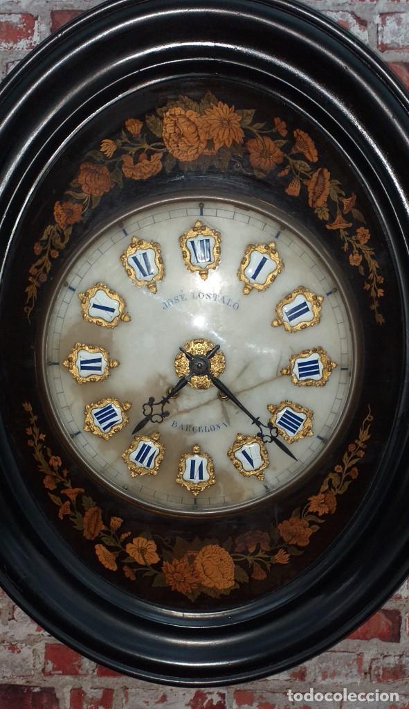 Relojes de pared: ANTIGUO RELOJ DE PARED FINALES SIGLO XIX - Foto 2 - 169427040