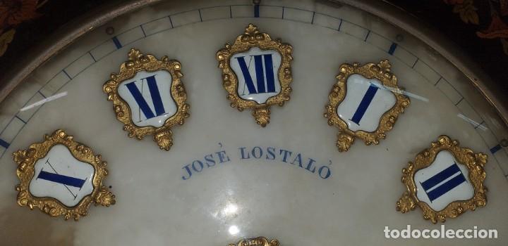 Relojes de pared: ANTIGUO RELOJ DE PARED FINALES SIGLO XIX - Foto 5 - 169427040