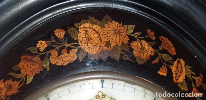 Relojes de pared: ANTIGUO RELOJ DE PARED FINALES SIGLO XIX - Foto 6 - 169427040