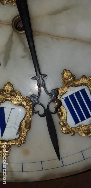 Relojes de pared: ANTIGUO RELOJ DE PARED FINALES SIGLO XIX - Foto 9 - 169427040