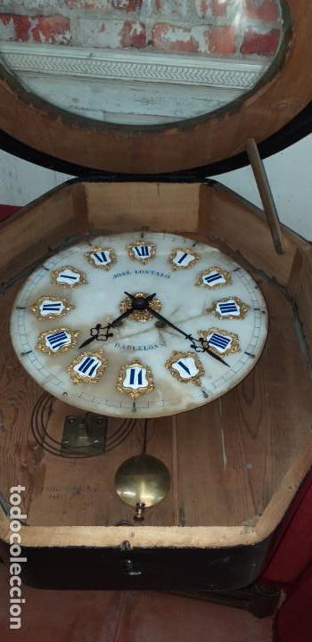 Relojes de pared: ANTIGUO RELOJ DE PARED FINALES SIGLO XIX - Foto 15 - 169427040