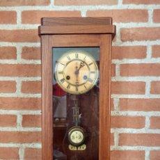Relojes de pared: RELOJ DE PARED UNGHANS, ESTILO ART DECO. Lote 169735404