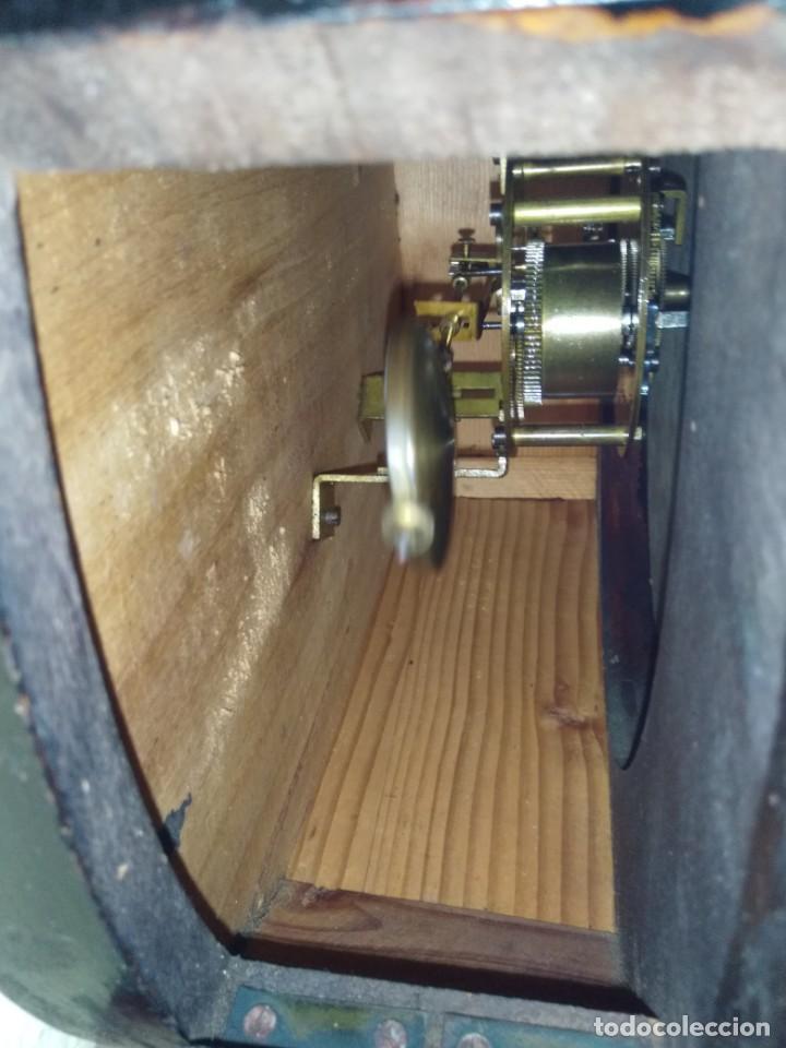 Relojes de pared: RELOJERIA MAURER RELOJ REDONDO OJO DE BUEY DEL BAR PICULIN DE PRAT DEL LLOBREGAT JUNGHANS AÑOS 20 - Foto 10 - 169853460