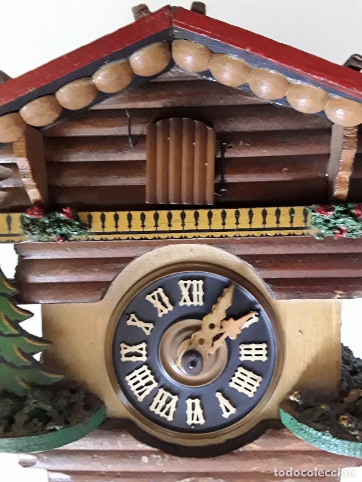 RELOJ DE CUCO PARA RESTAURAR (Relojes - Pared Carga Manual)