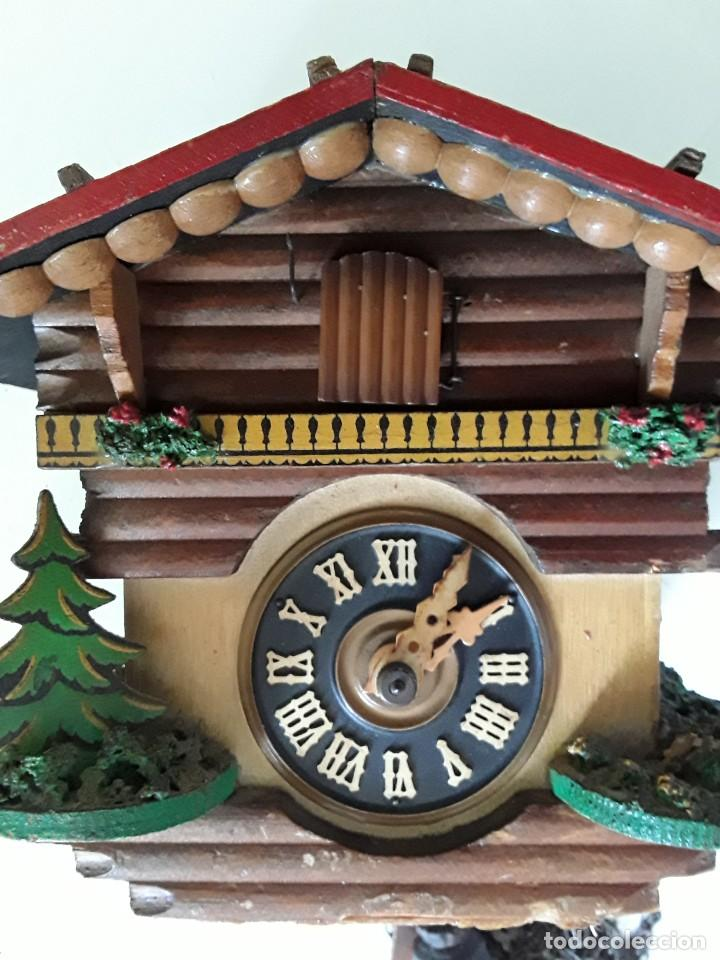 Relojes de pared: Reloj de cuco para restaurar - Foto 2 - 170532628