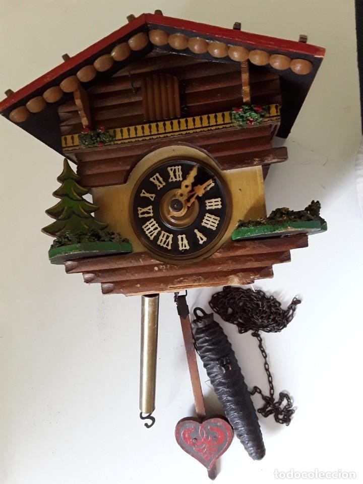 Relojes de pared: Reloj de cuco para restaurar - Foto 3 - 170532628