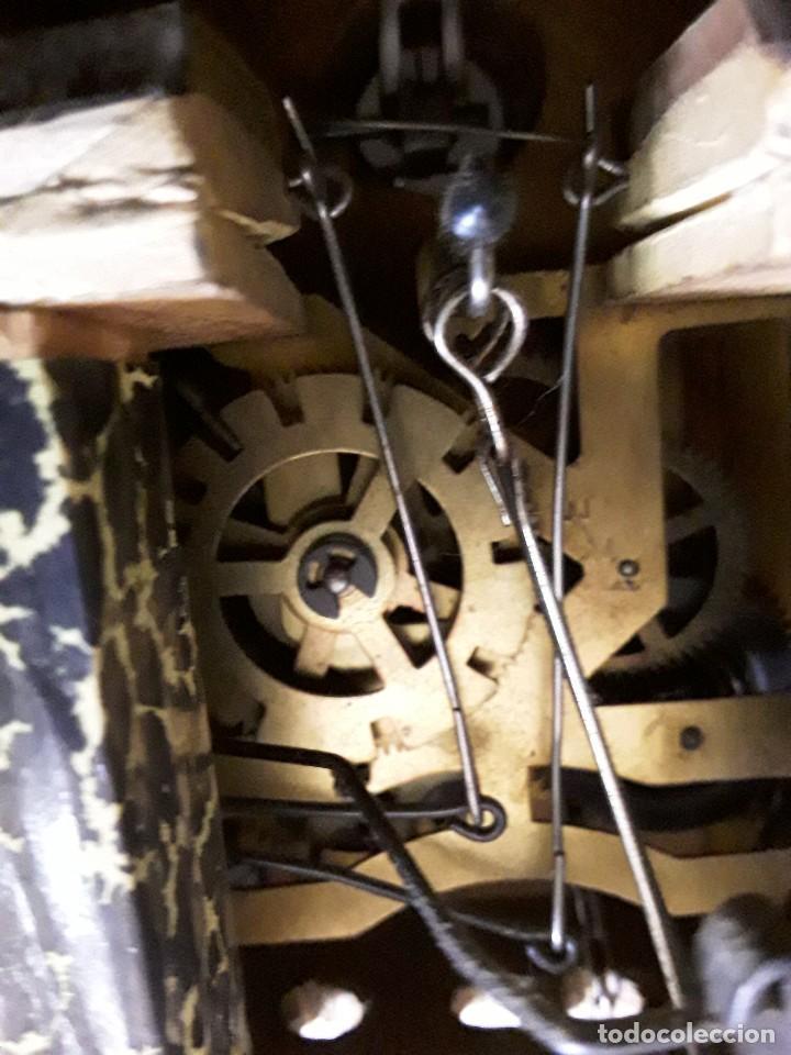 Relojes de pared: Reloj de cuco para restaurar - Foto 10 - 170532628