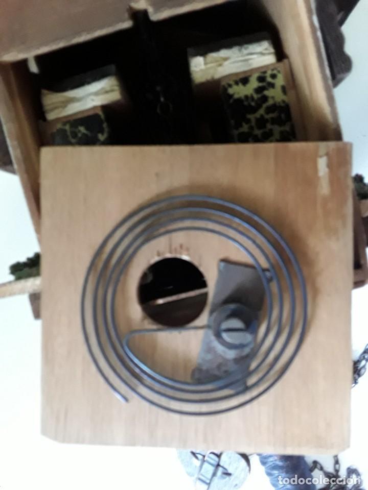 Relojes de pared: Reloj de cuco para restaurar - Foto 11 - 170532628