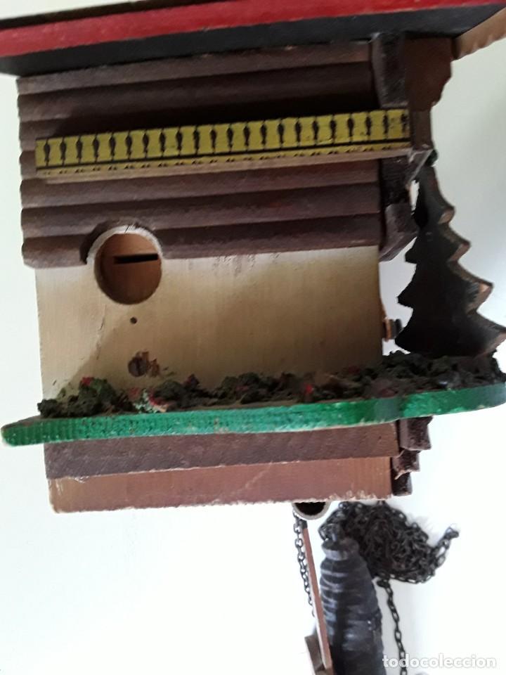Relojes de pared: Reloj de cuco para restaurar - Foto 12 - 170532628
