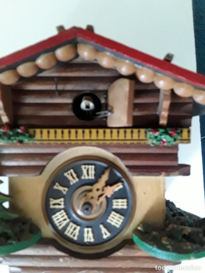 Relojes de pared: Reloj de cuco para restaurar - Foto 13 - 170532628