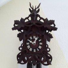 Relojes de pared: ANTIGUO RELOJ SELVA NEGRA, MECANISMO DE MADERA ( STOLLENWERK ), CIRCA 1900. Lote 171030855