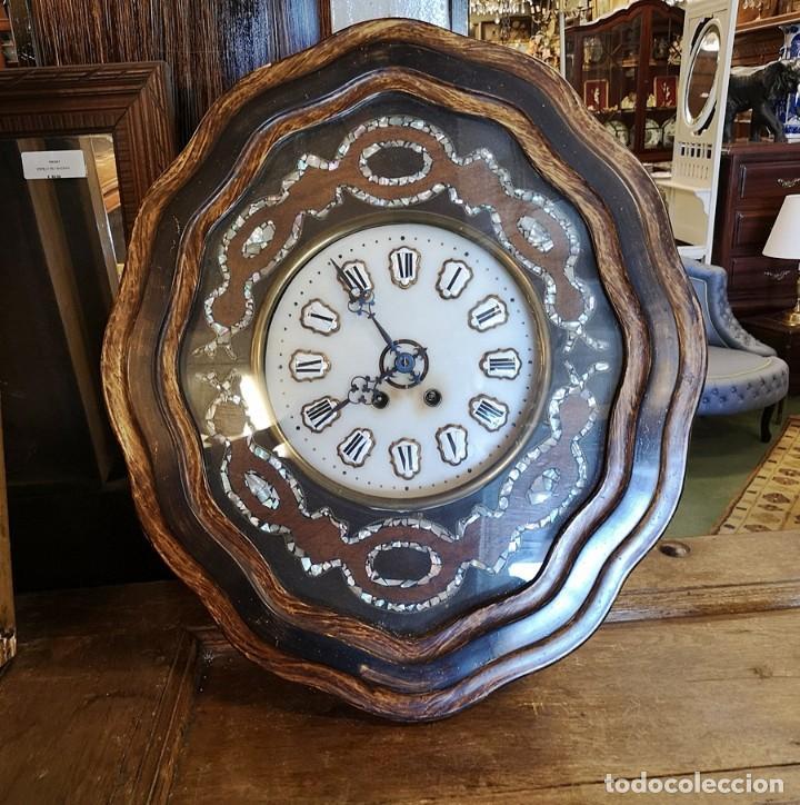 RELOJ OJO DE BUEY (Relojes - Pared Carga Manual)