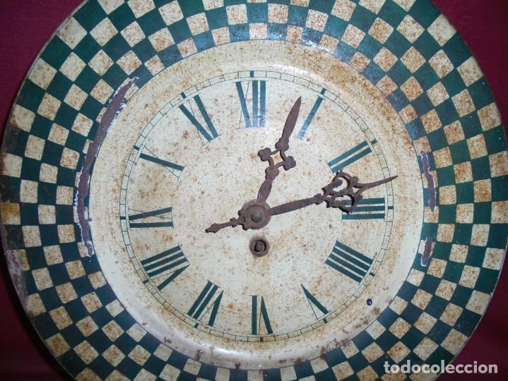 Relojes de pared: magnifico antiguo reloj a cuerda principios del 1900 - Foto 2 - 171975805