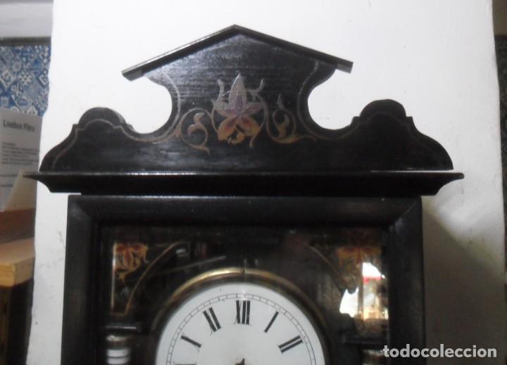 Relojes de pared: RELOJ DE PARED – SELVA NEGRA C'1860 *** FUNCIONA - Foto 3 - 172102608