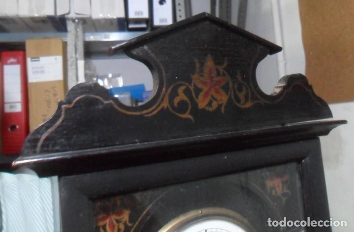 Relojes de pared: RELOJ DE PARED – SELVA NEGRA C'1860 *** FUNCIONA - Foto 4 - 172102608