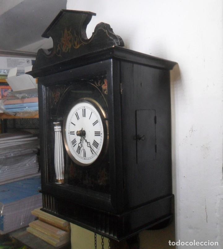 Relojes de pared: RELOJ DE PARED – SELVA NEGRA C'1860 *** FUNCIONA - Foto 6 - 172102608