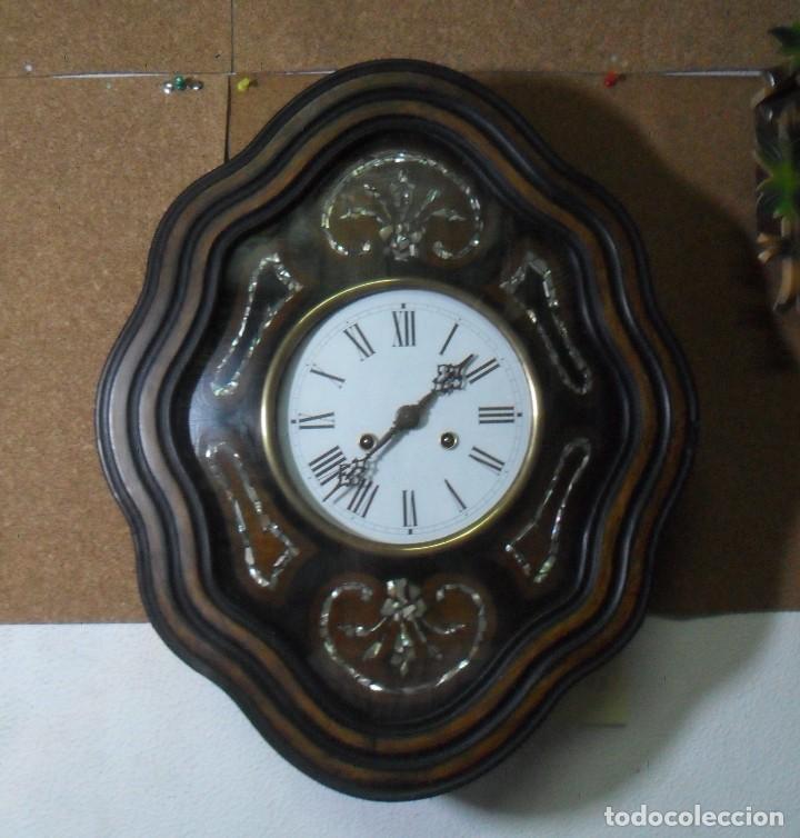 RELOJ OJO DE BUEY - FUNCIONA (Relojes - Pared Carga Manual)