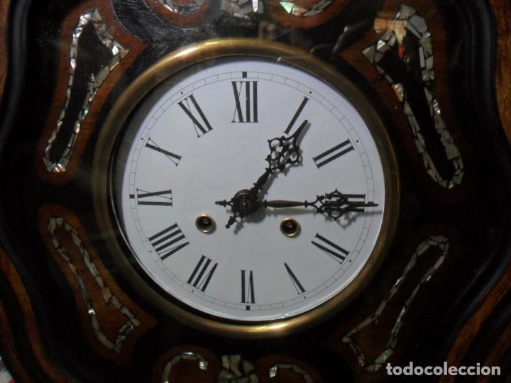 Relojes de pared: RELOJ OJO DE BUEY - FUNCIONA - Foto 2 - 172102752