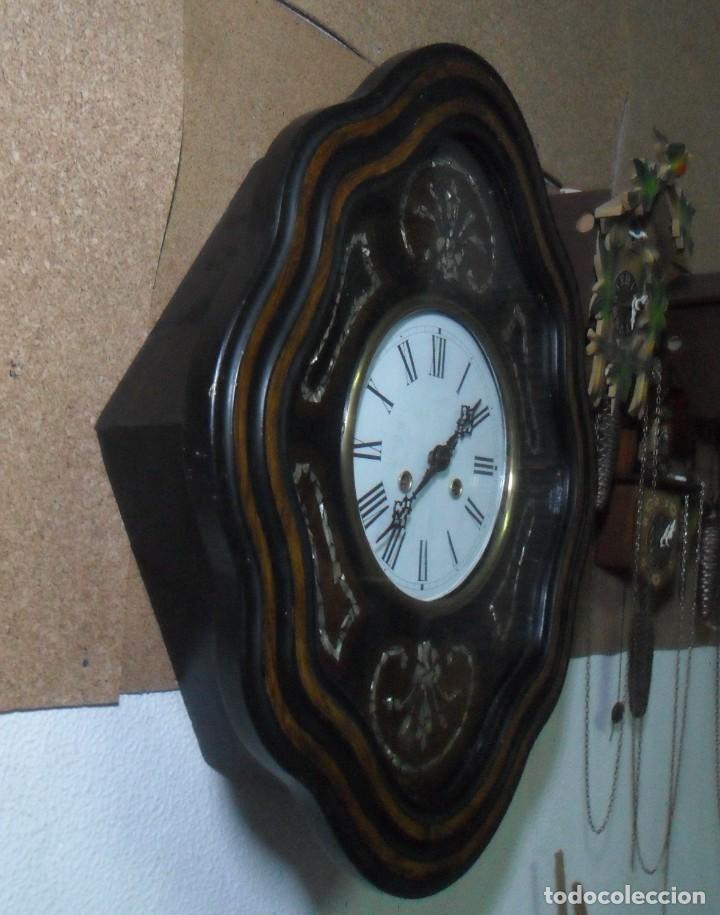 Relojes de pared: RELOJ OJO DE BUEY - FUNCIONA - Foto 3 - 172102752