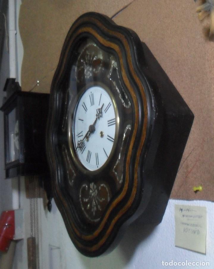 Relojes de pared: RELOJ OJO DE BUEY - FUNCIONA - Foto 4 - 172102752