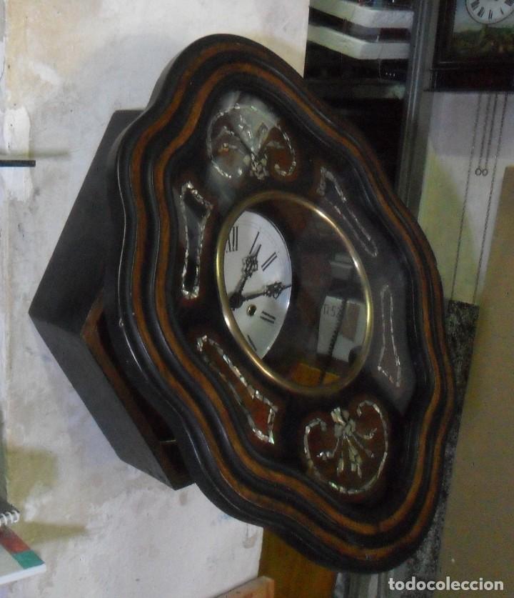 Relojes de pared: RELOJ OJO DE BUEY - FUNCIONA - Foto 5 - 172102752