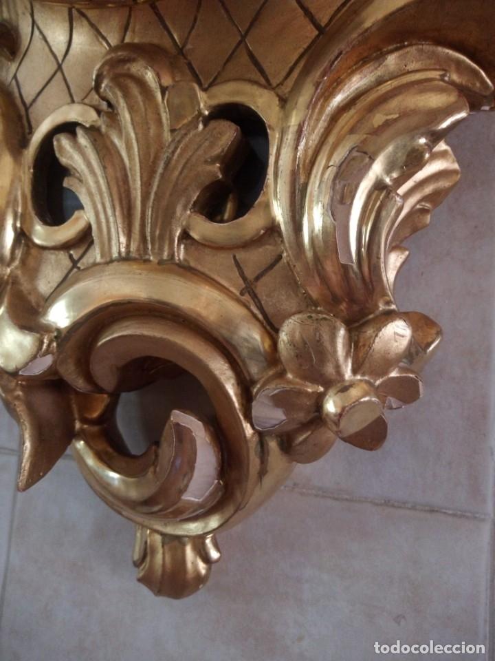 Relojes de pared: espectacular reloj de pared de carga manual luxor suisse made,madera recubierta de porcelana con oro - Foto 25 - 172787003