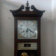Relojes de pared: RELOJ DE PARED FRONTIER 31 DIAS DE CUERDA CON CALENDARIO. Lote 172950998