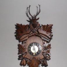 Relojes de pared: PEQUEÑO RELOJ MECÁNICO DE PARED, TIPO CUCO ** NUEVO. Lote 173075242