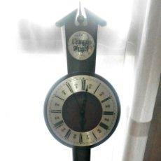 Relojes de pared: RELOJ DE PARED DE MADERA ( FUNCIONANDO). Lote 173297813