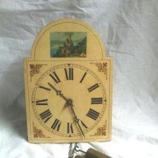 Relojes de pared: RELOJ PARED POPULARMENTE CONOCIDOS RATERA, FUNCIONA. MED. 20 X 28 CM. Lote 173953603
