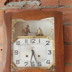 Relojes de pared: PRECIOSO RELOJ ODO AUTÓMATA. Lote 173967254