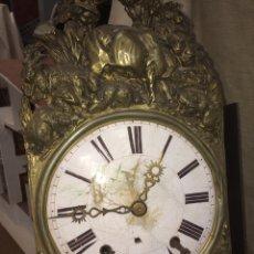 Relojes de pared: ANTIGUO RELOJ DE PENDULO!GUAPISIMO!. Lote 173975777