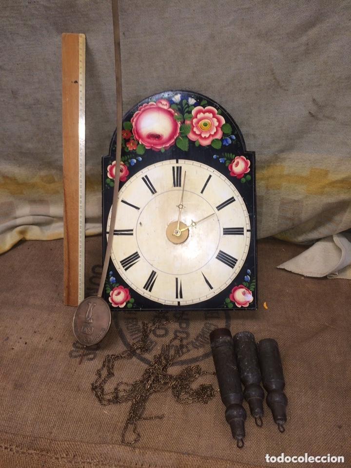 ANTIGUO RELOJ DE RATERA!MUY BONITO! (Relojes - Pared Carga Manual)