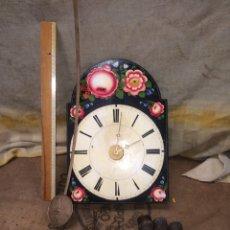 Relojes de pared: ANTIGUO RELOJ DE RATERA!MUY BONITO!. Lote 173975965