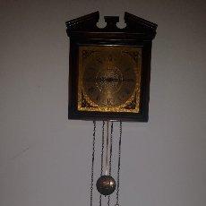 Relojes de pared: RELOJ ANTIGUO PARED MARCA SARS MAQUINARIA FHS 261-030. Lote 174008568