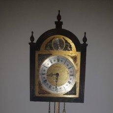 Relojes de pared: RELOJ ANTIGUO PARED MARCA DIEHL. Lote 174009068