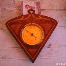 Relojes de pared: EXCEPCIONAL BAROMETRO SIGLO XIX FINALES VER FOTOS Y DESCRIPCCION. Lote 174033839