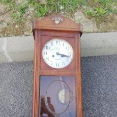 Relojes de pared: ANTIGUO RELOJ DE PARED CON SONERIA SIGLO XIX. Lote 174037397