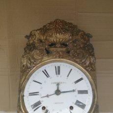 Relojes de pared: ANTIGUA CABEZA RELOJ MOREZ SIGLO XIX. Lote 174062370