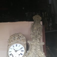Relojes de pared: ESPECTACULAR RELOJ MOREZ PÉNDULO REAL SIGLO XIX. Lote 174064072